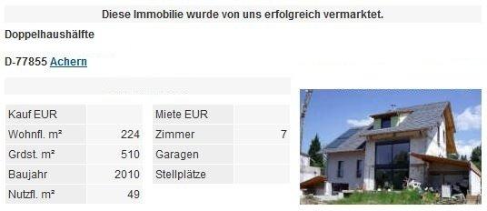 Referenzen Immobilienmakler Bruchsal