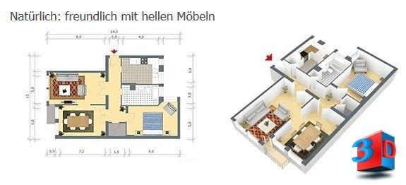 Grundriss vom Immobilienmakler Bruchsal